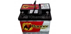Akumuliatorius Banner 50 Ah Power PRO 12V 420A 210x175x190mm